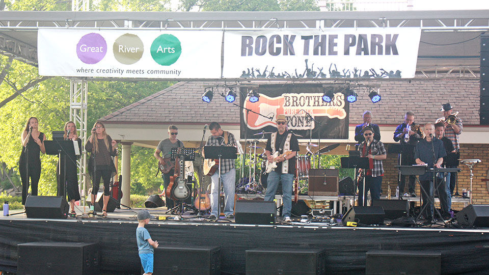 Great celebration at 10th annual Rock the Park