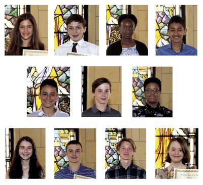 St. Peter graduates