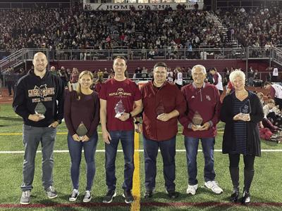Maple Grove honors new Hall of Fame inductees