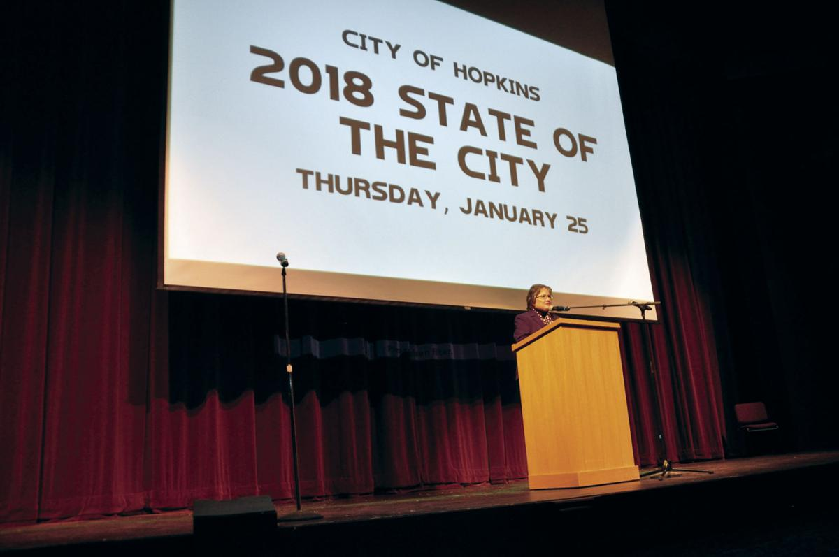 Projects previewed, fun had at annual Hopkins State of the City address