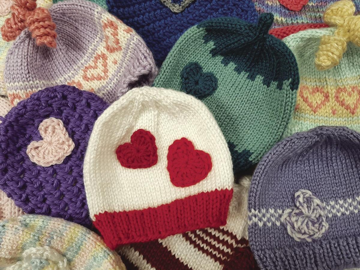 Knitting Grandma honored for years of dedication