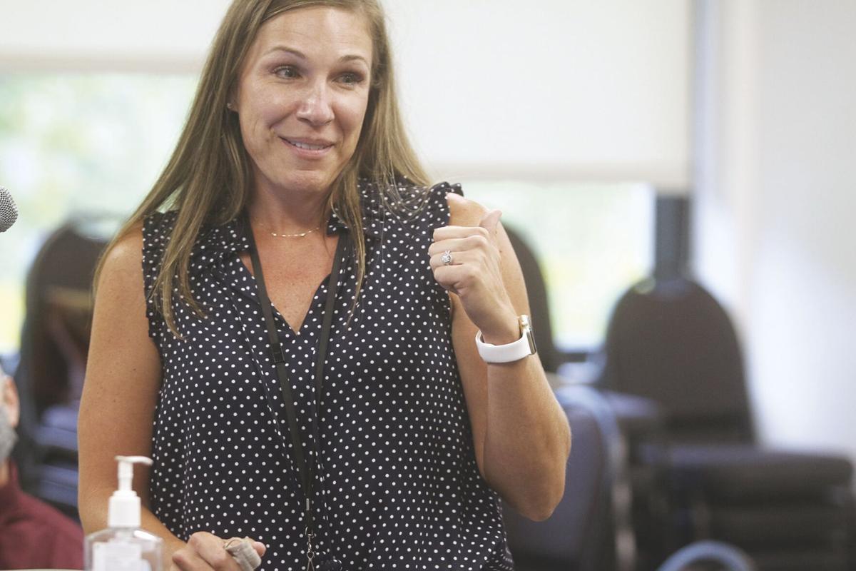 Kate Loveland, principal of Parker Elementary School.