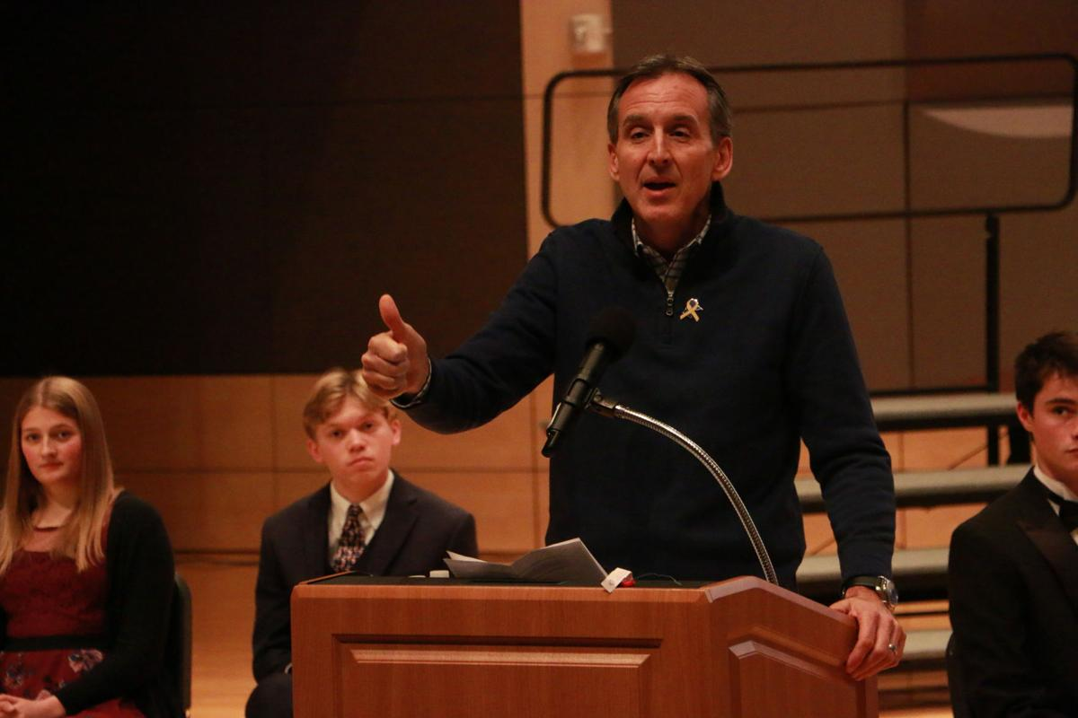 Former Minnesota Gov. Tim Pawlenty gives keynote address
