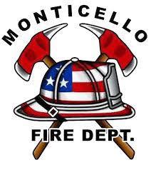 Monticello Fire Logo
