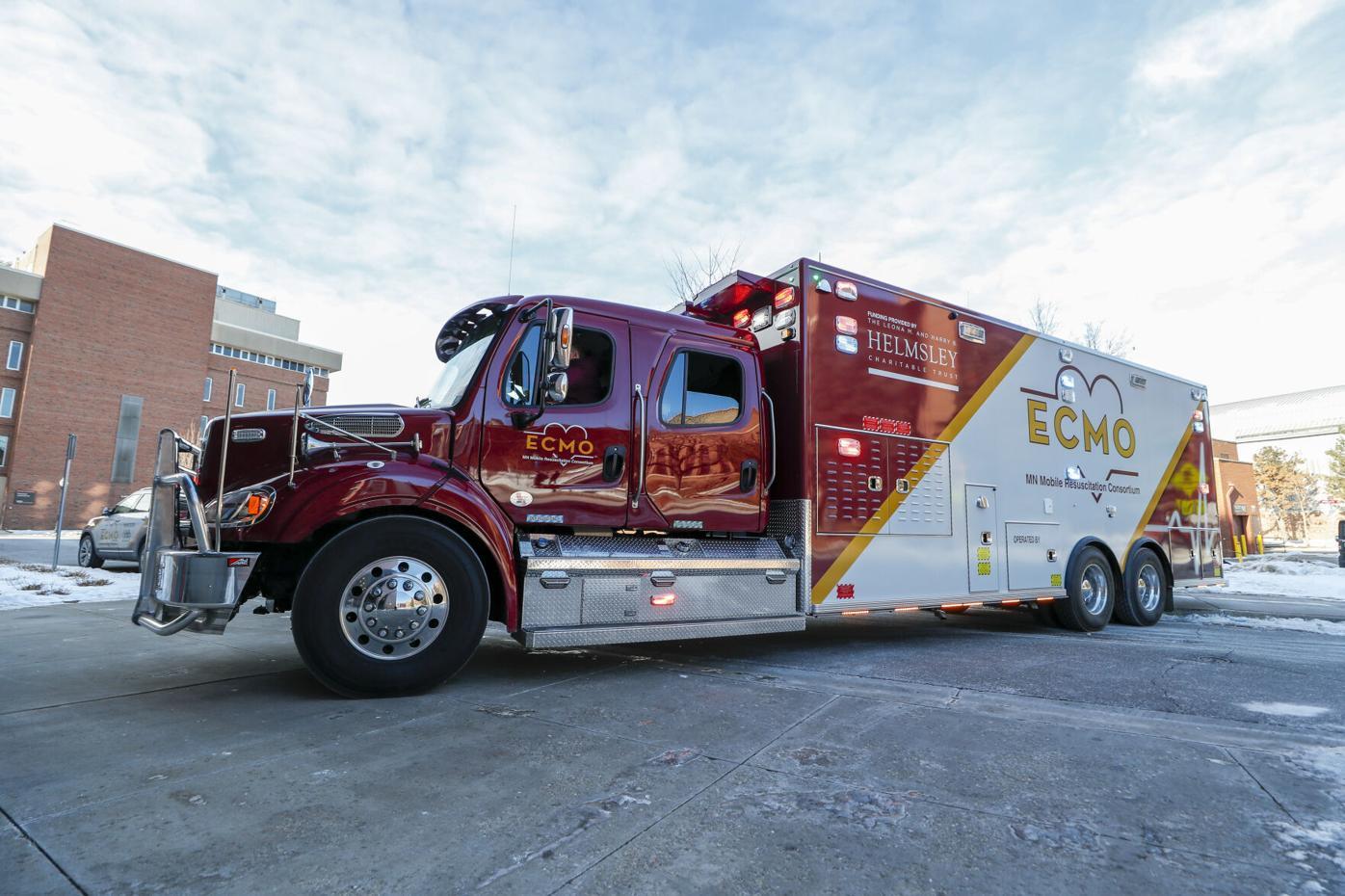 ECMO truck