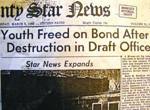 Nearly 50 years later, draft protestor has no regrets