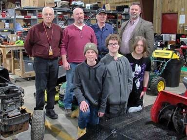 Small Engine Repair Program Collaborates With District Forest Lake