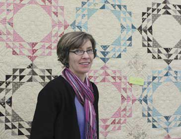 Quilter of the Year pieces patchwork fabric of life into works of art