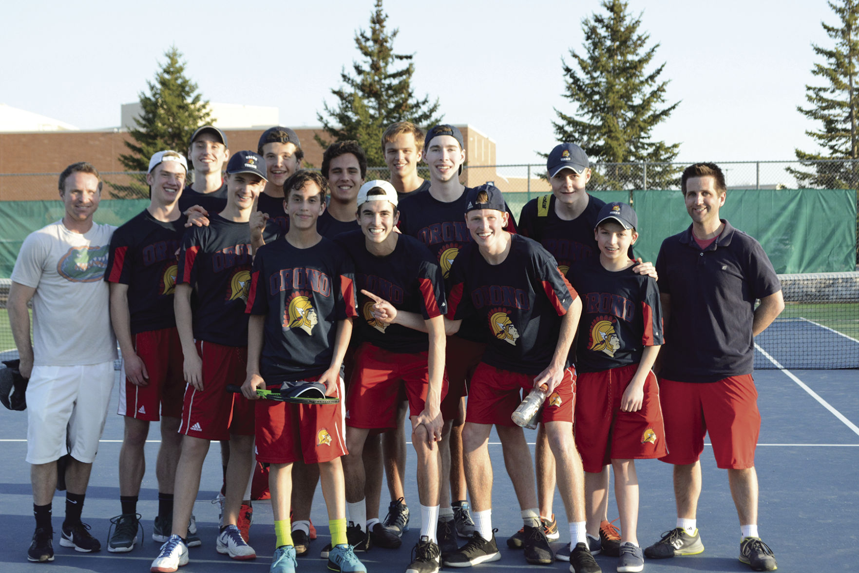 tennis Spartans knock off four Top 10