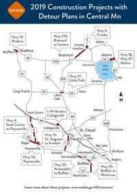 MnDOT announces 2019 state road construction projects | Free
