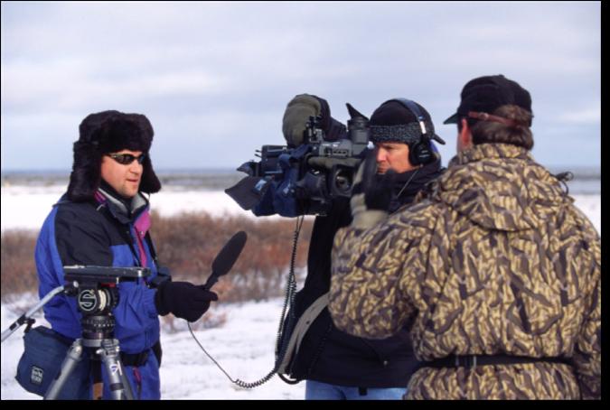 Paul David on polar bear story for Animal Planet.png