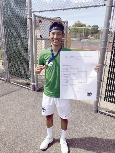 Eagan tennis player knows what he's getting into