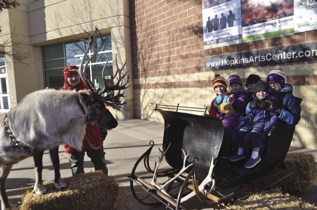 Holiday spirit in fine form at Old Fashioned Holiday in Hopkins