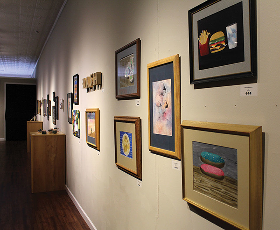 LFCHS Art Show impacted by GRA gallery closing