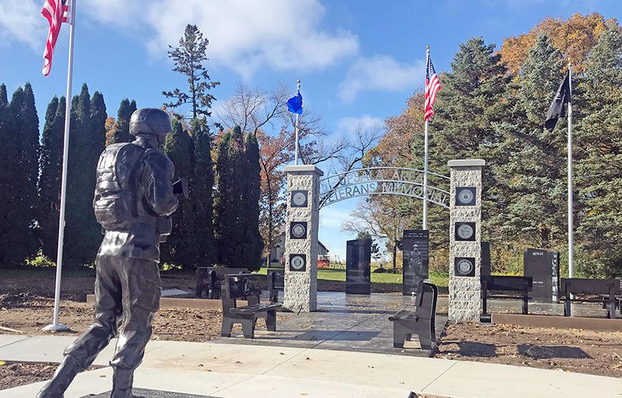 Upsala Area Veterans Memorial: A way to honor veterans and those who gave it all