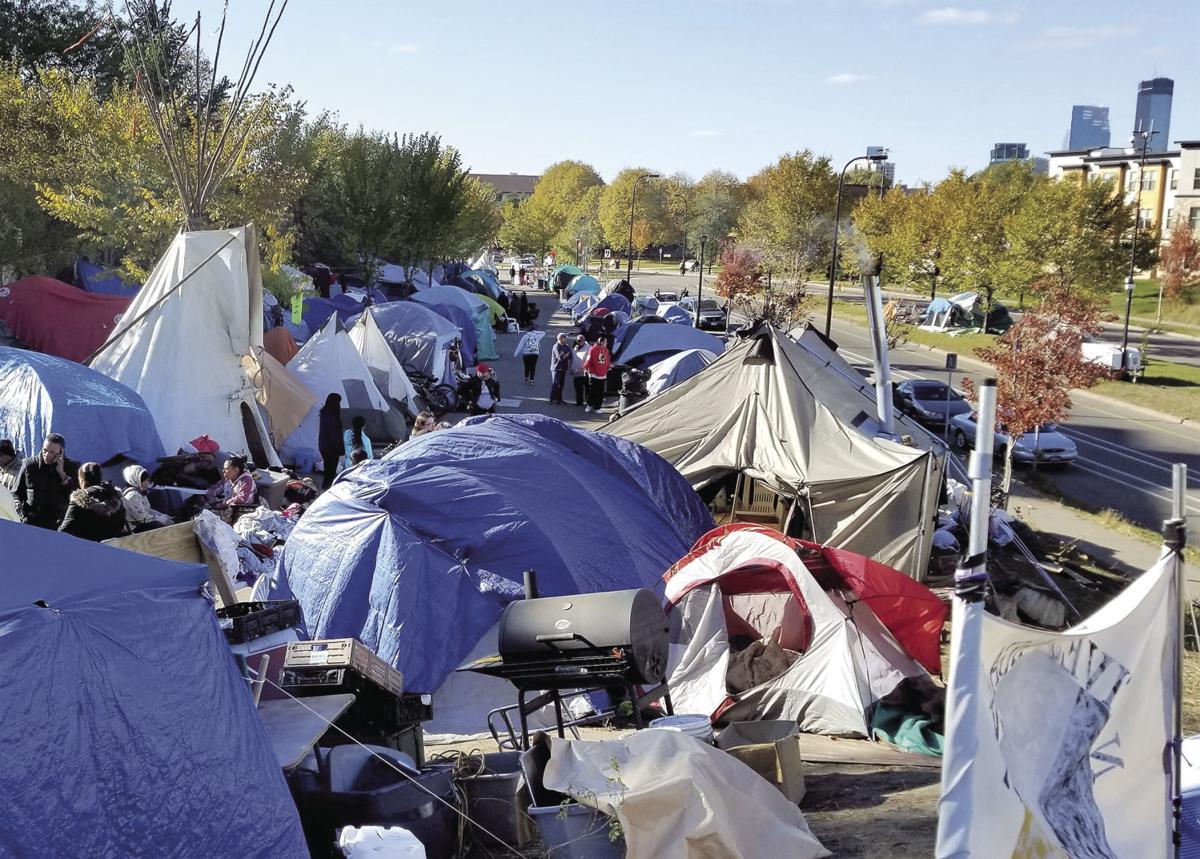 minneapolis tent city