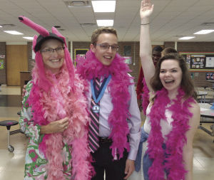July ourLife: Energy-filled Kiwanian volunteers at Fridley High School
