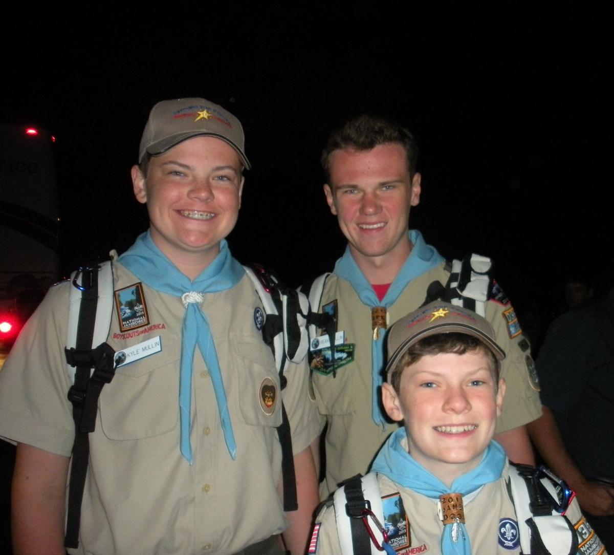 lv eagles depart for Boy Scout Jamboree.jpg