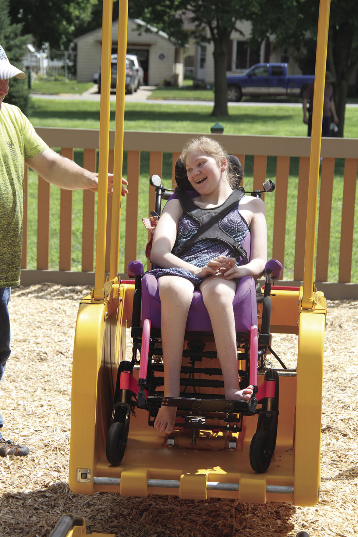 """Acentek brings """"ability swing"""" to the park"""