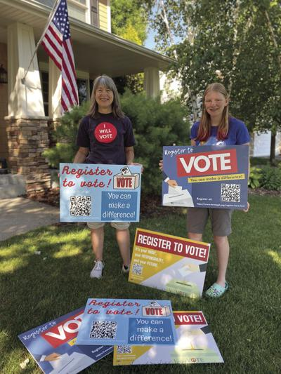 Eden Prairie teen's mission is to increase the number of registered voters