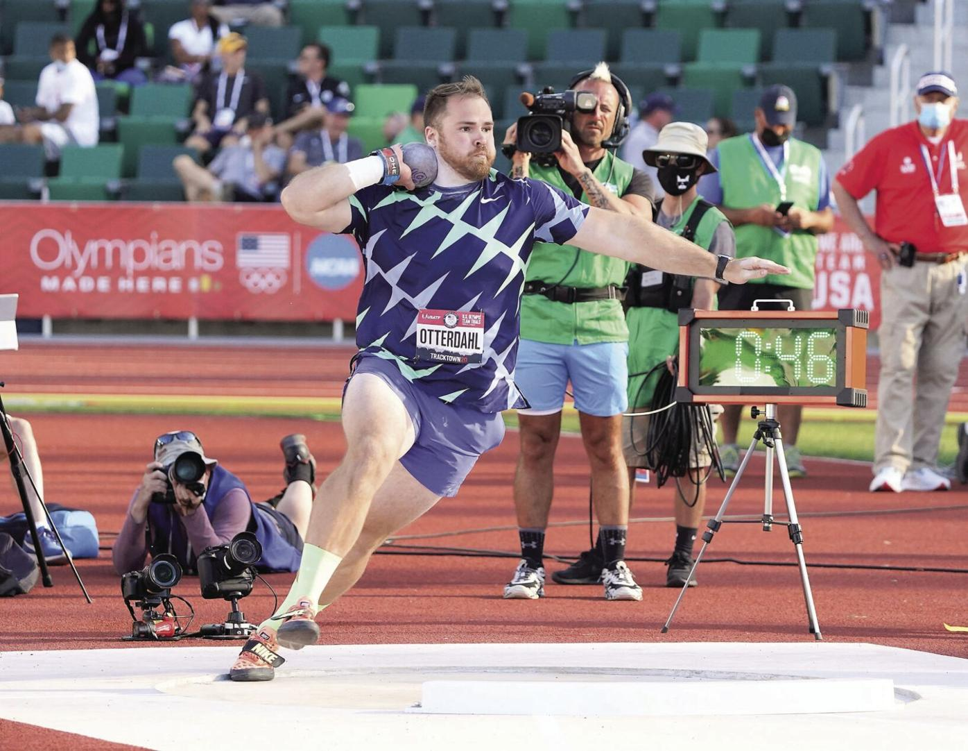 Medal on his mind: Otterdahl re-calibrates his goals