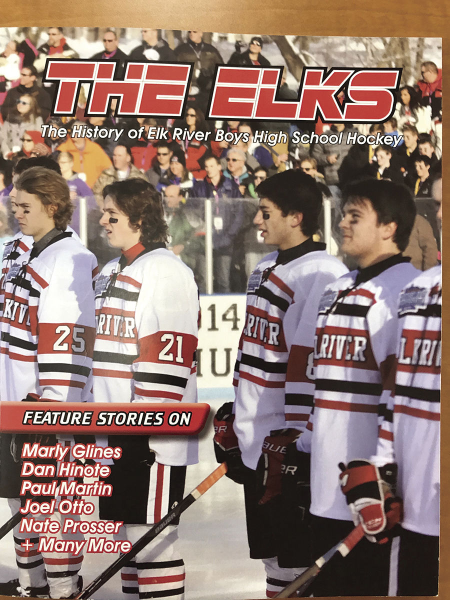 MN H.S.: Heasley To Sell Hockey Books At Elk Games