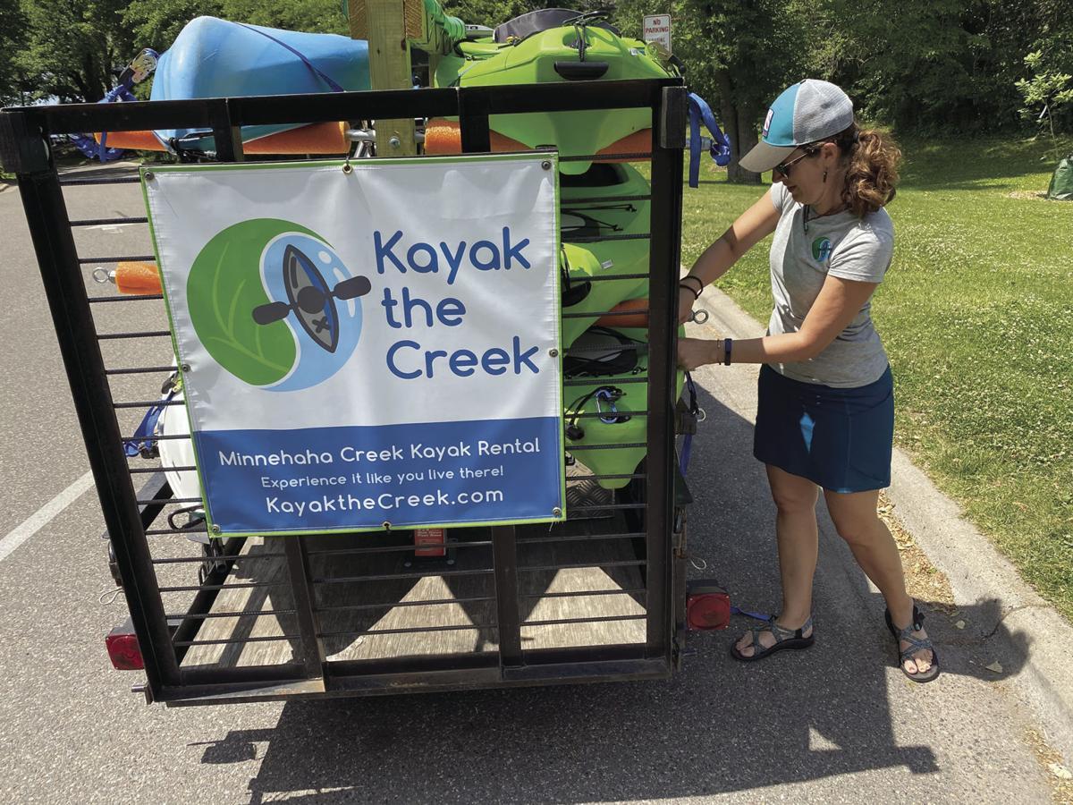 Kayak the Creek