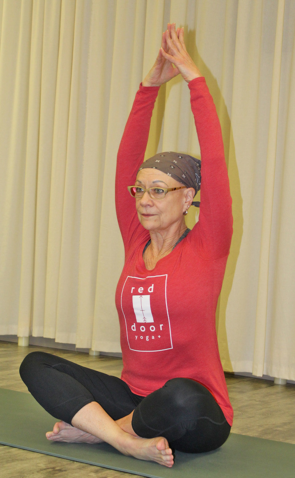 Local women discover benefits of yoga