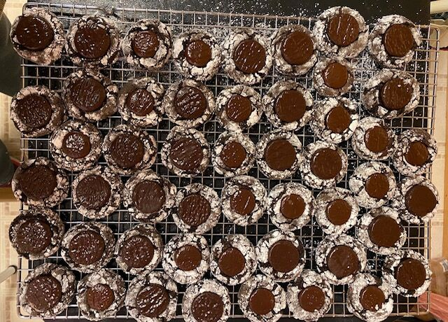 Linda Valentine cookies