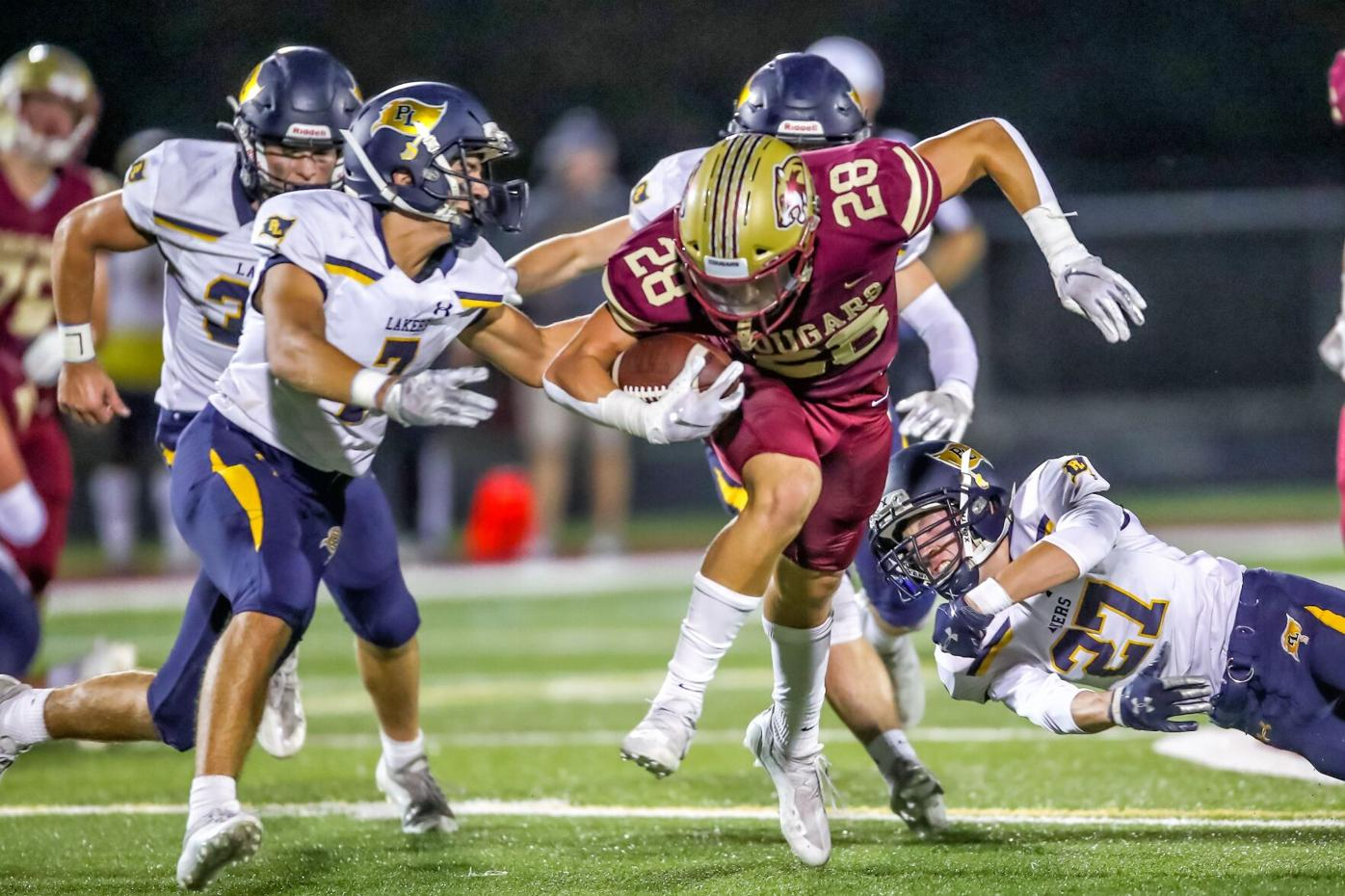 Football Week 6: Cougars march on, defeat Prior Lake