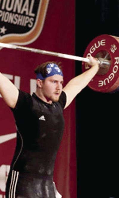 Local club trains nationally prominent weightlifters