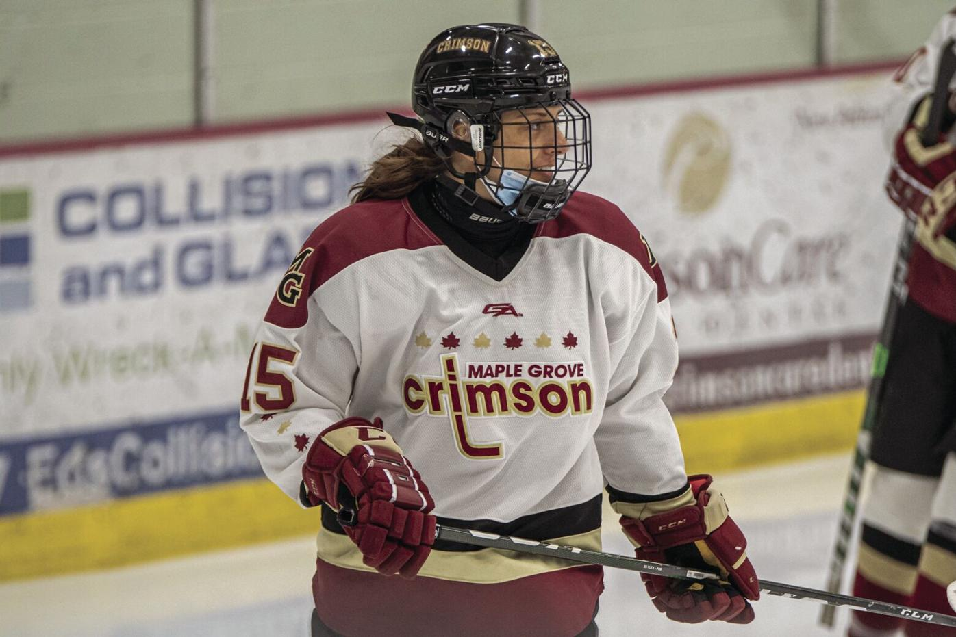 An attitude of gratitude: From preschool to D1 hockey, Maple Grove athlete is thanking coaches and mentors in a special way