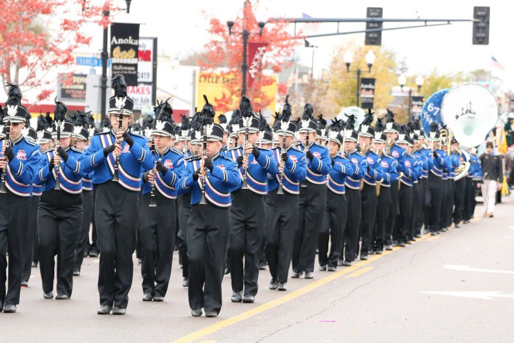 Armstrong Marching Band earns Anoka Halloween Parade honors ...