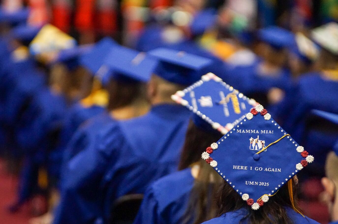 Hopkins graduation