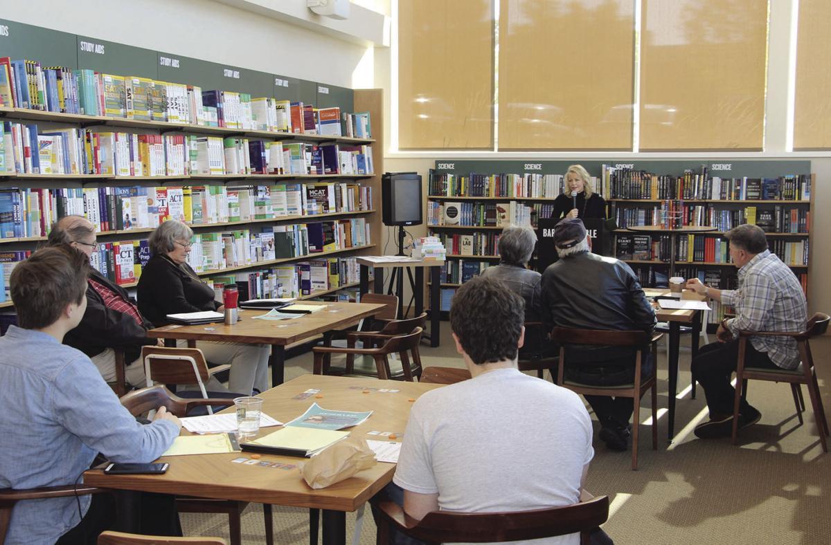 Marilyn Jax hosts a free mystery writers workshop