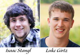 Luke Girtz and Isaac Stangl