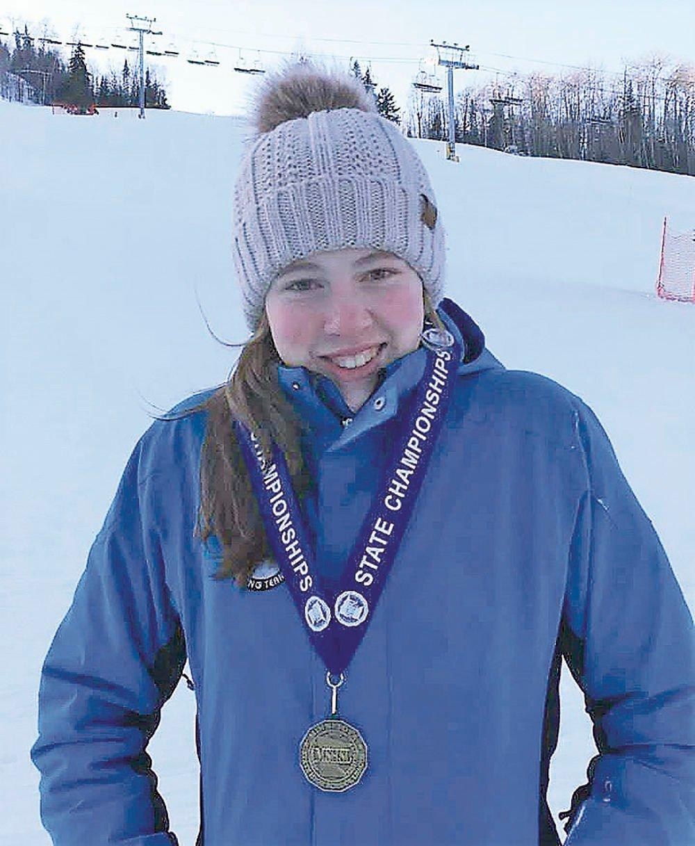 Eagan's Sophia Palmquist wins Alpine gold