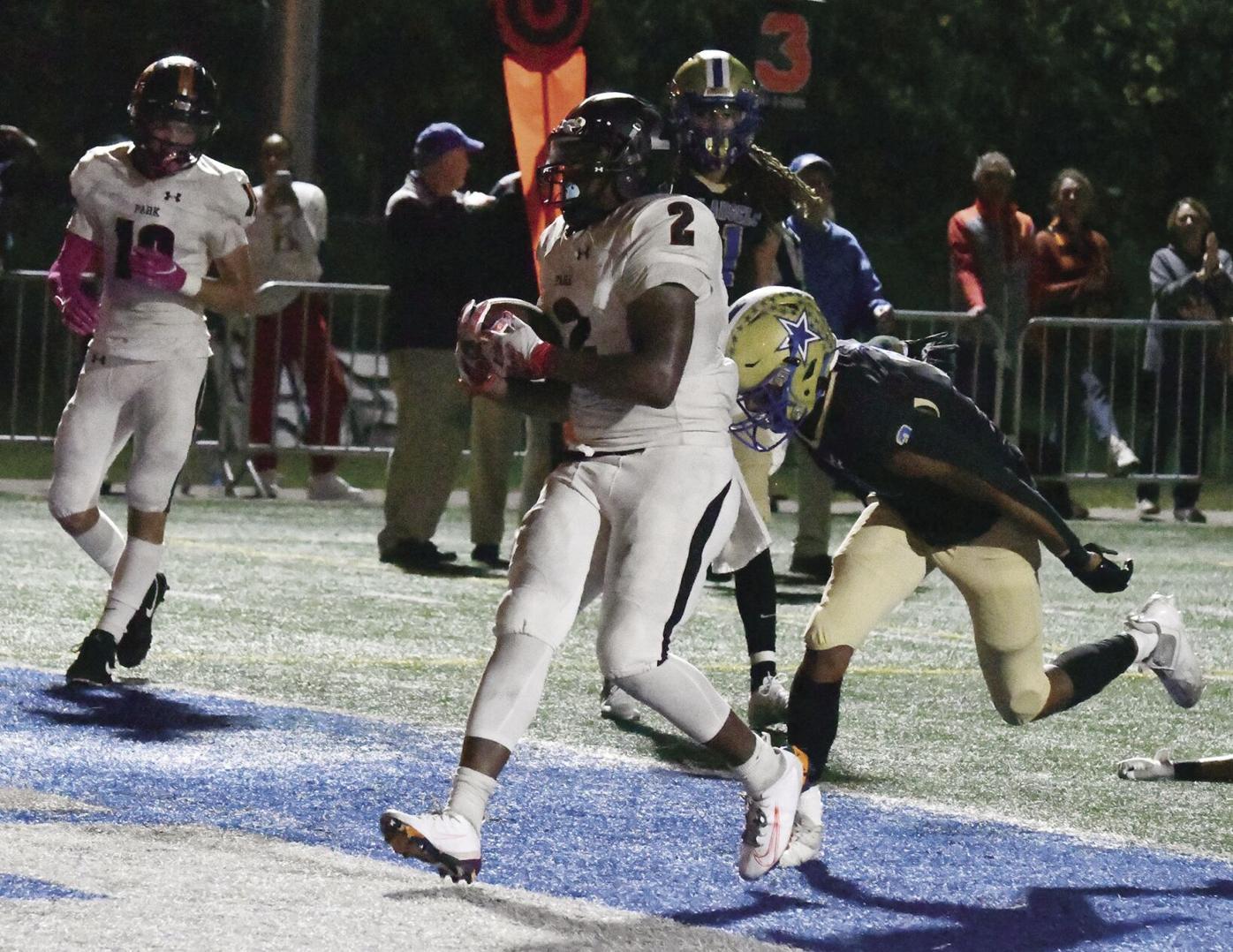 Deontez Ross, Jr. touchdown