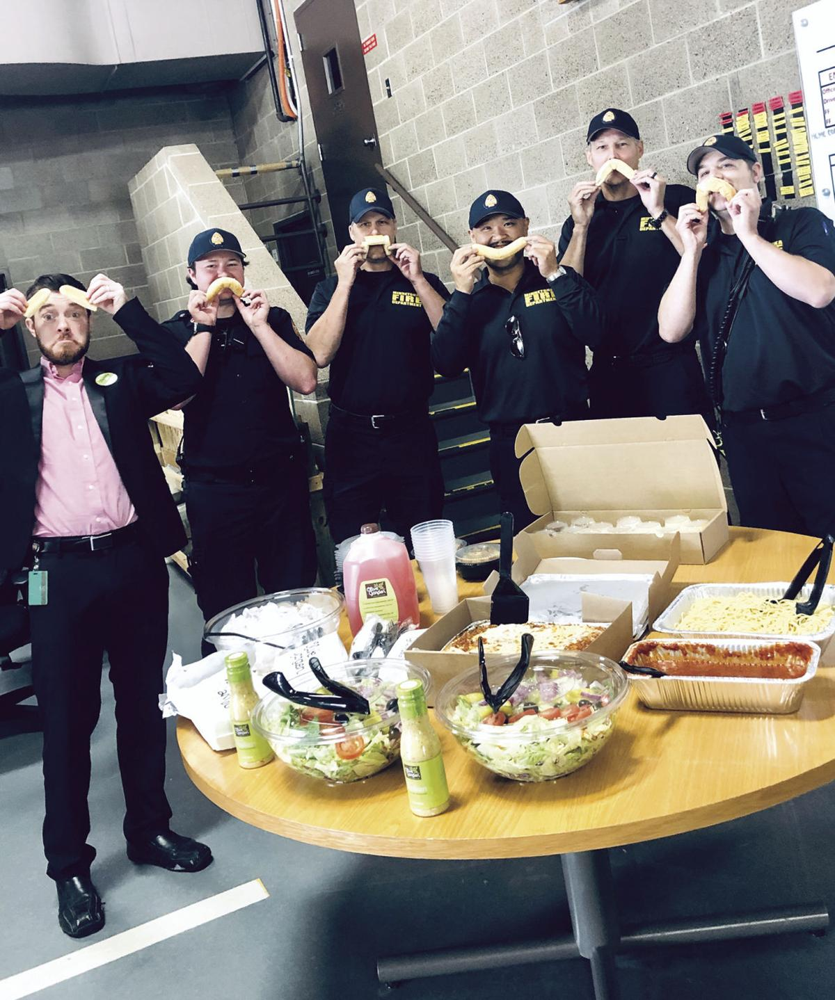 St. Louis Park Olive Garden helps Minnetonka firefighters have fun at work (photos) - 1