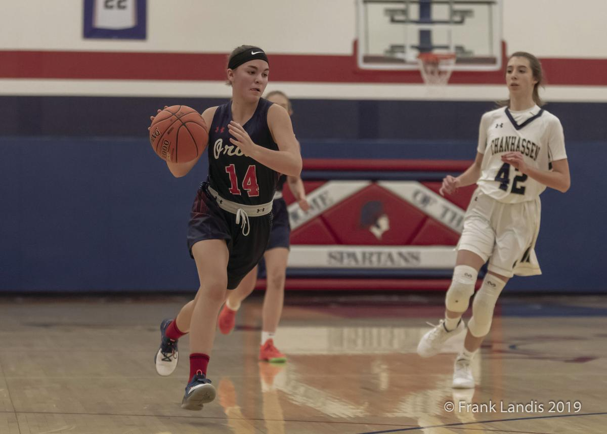 12-12-19 - OHS Girls JV Basketball vs Chanhassen