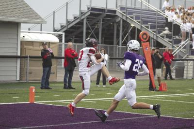 Carson Kolles touchdown catch