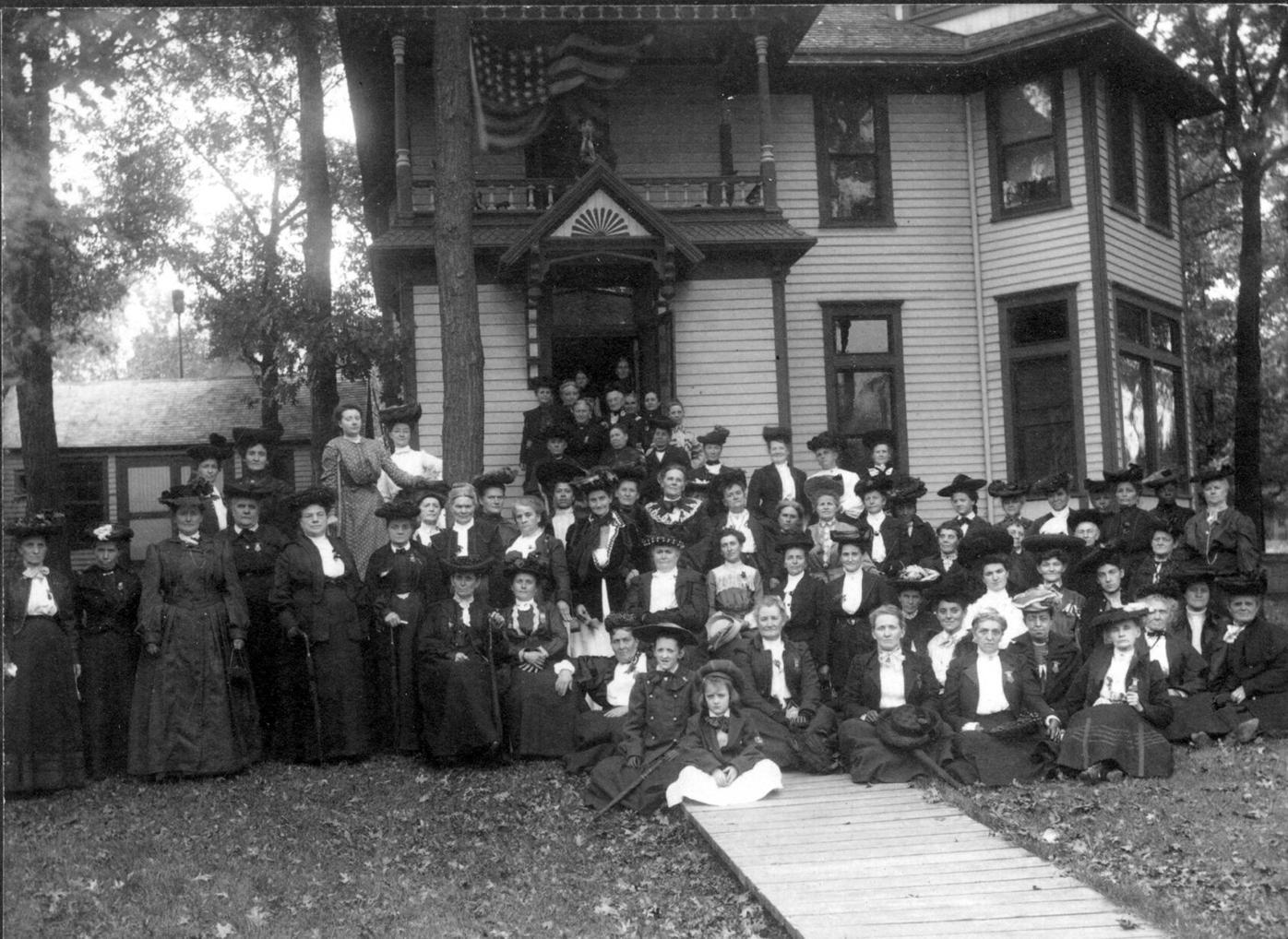 May - GAR Ladies group at 416 S. 5th Street, Stillwater - Mrs. Elizabeth Sewards house ca.jpg