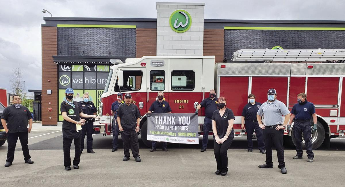 Maple Grove first responders, frontline workers receive free meals