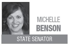 Michelle Benson column logo MT