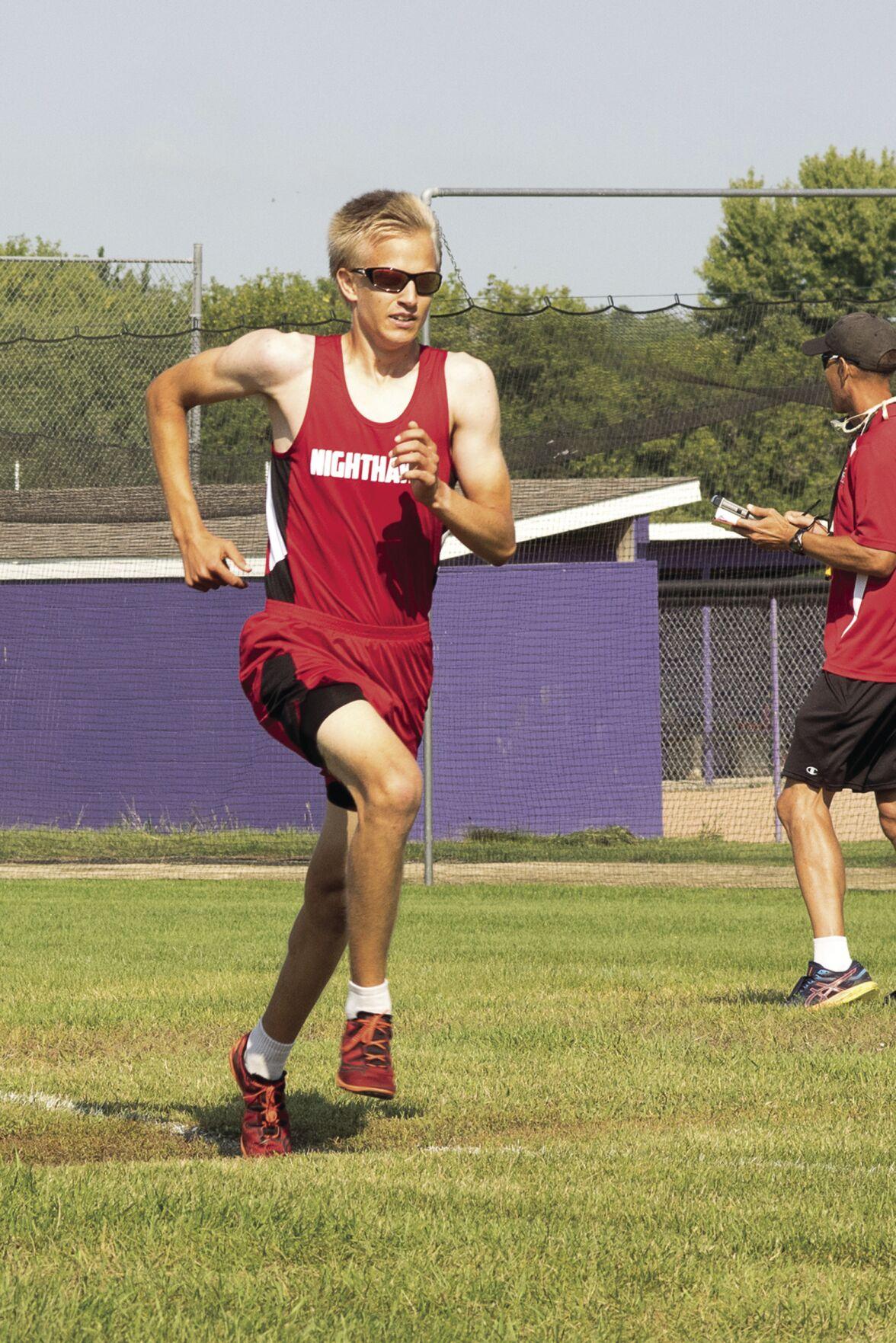 Area home school cross country team opens season
