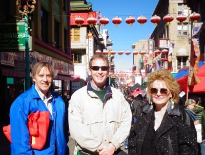 John, Joe and Margot Rheinberger in San Francisco's Chinatown during its Lunar New Year Celebration.jpg