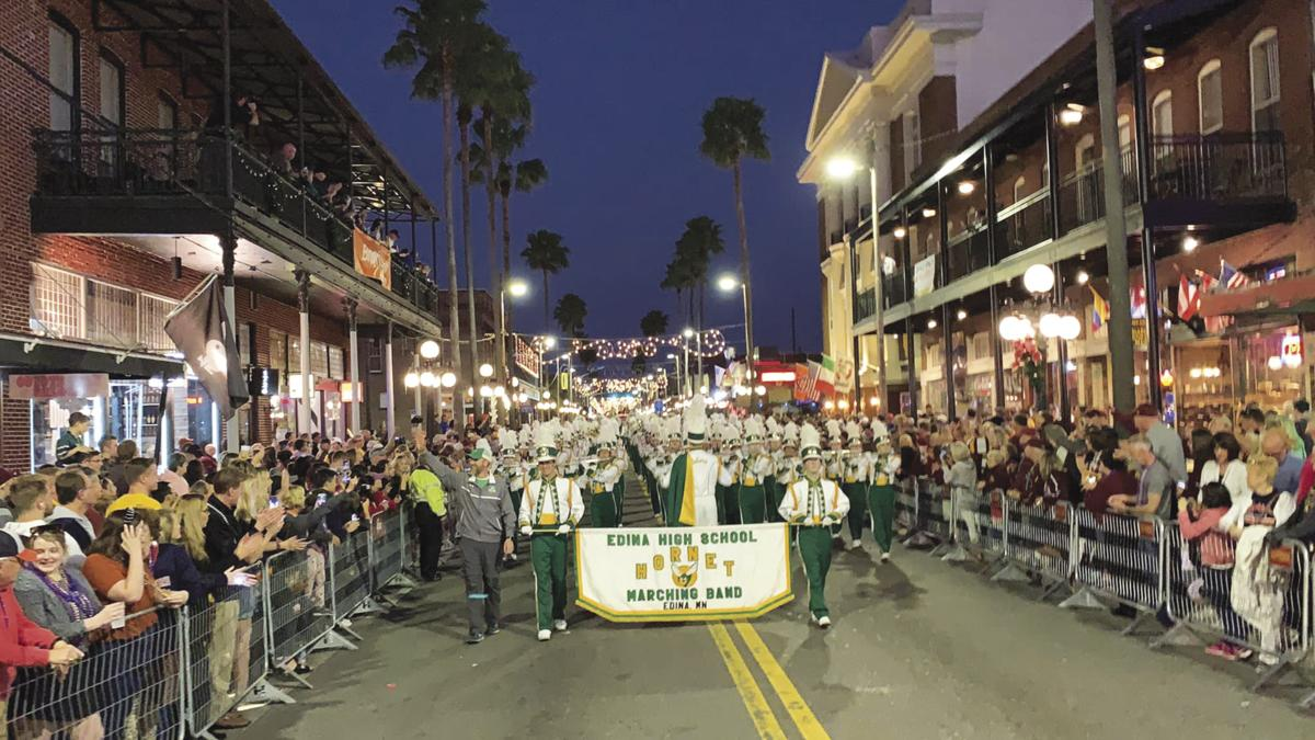 Edina Marching Band in Tampa Bay
