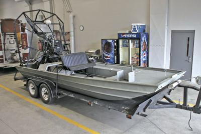 Former firefighter donates airboat to Bayport Fire