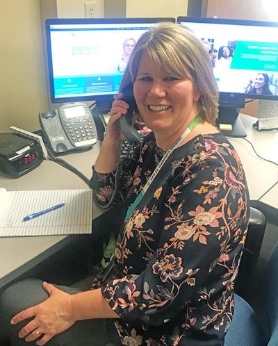 CHI Health HR recruiter Michelle Athmann named September 'Employee of the Month'