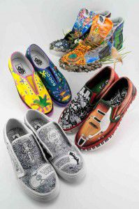 12b050edf90088 Elk River High School emerges as semi-finalist in shoe design contest   online voting